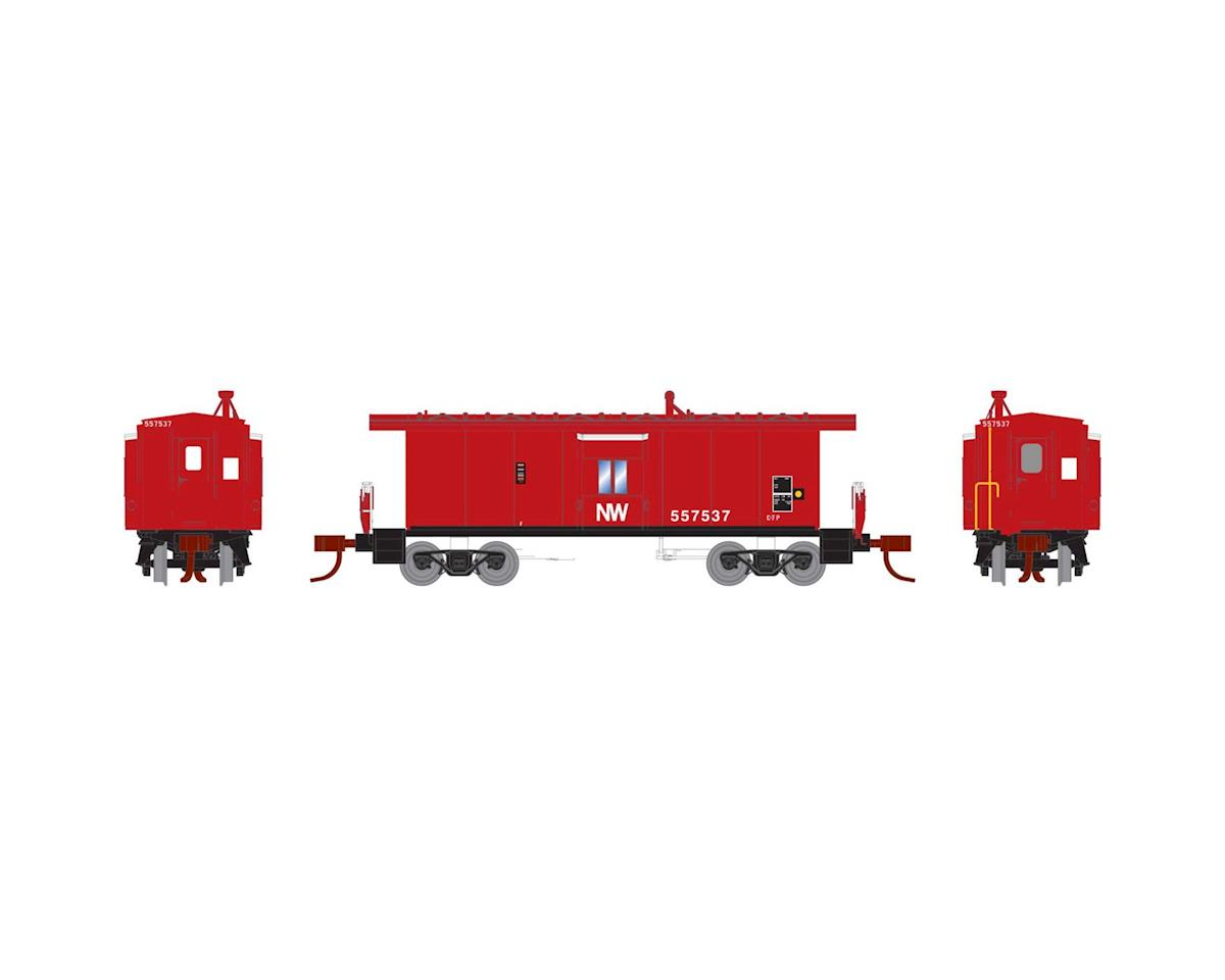 Athearn N Bay Window Caboose, N&W #557537