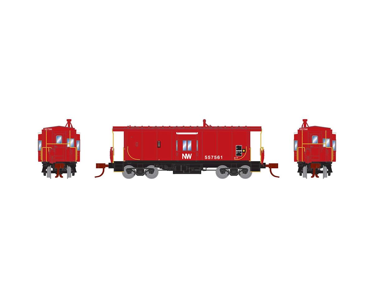 Athearn N Bay Window Caboose, N&W #557561