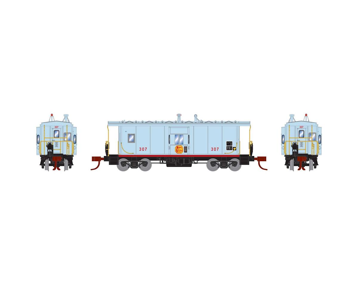 Athearn N Bay Window Caboose, KCS #307