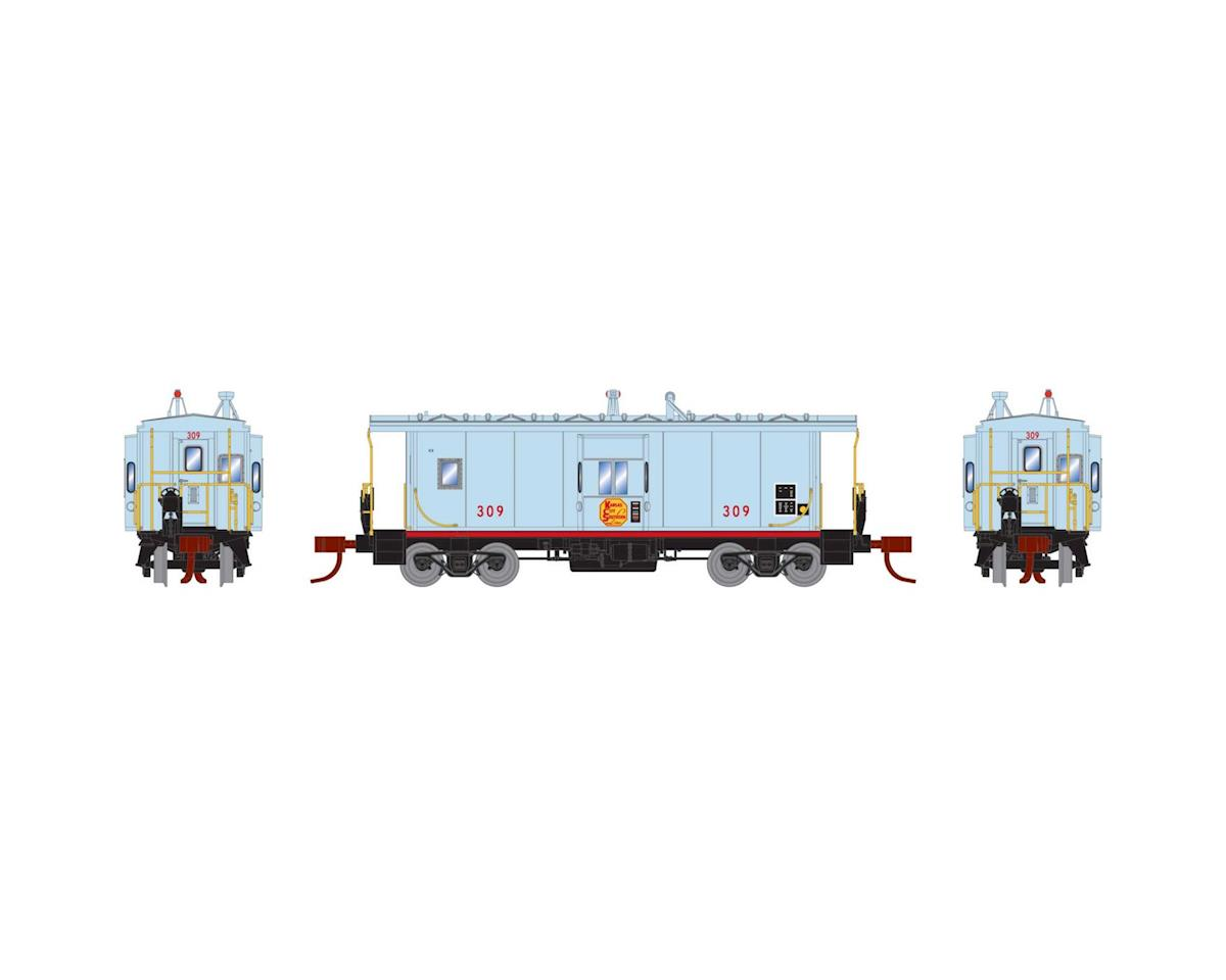 Athearn N Bay Window Caboose, KCS #309