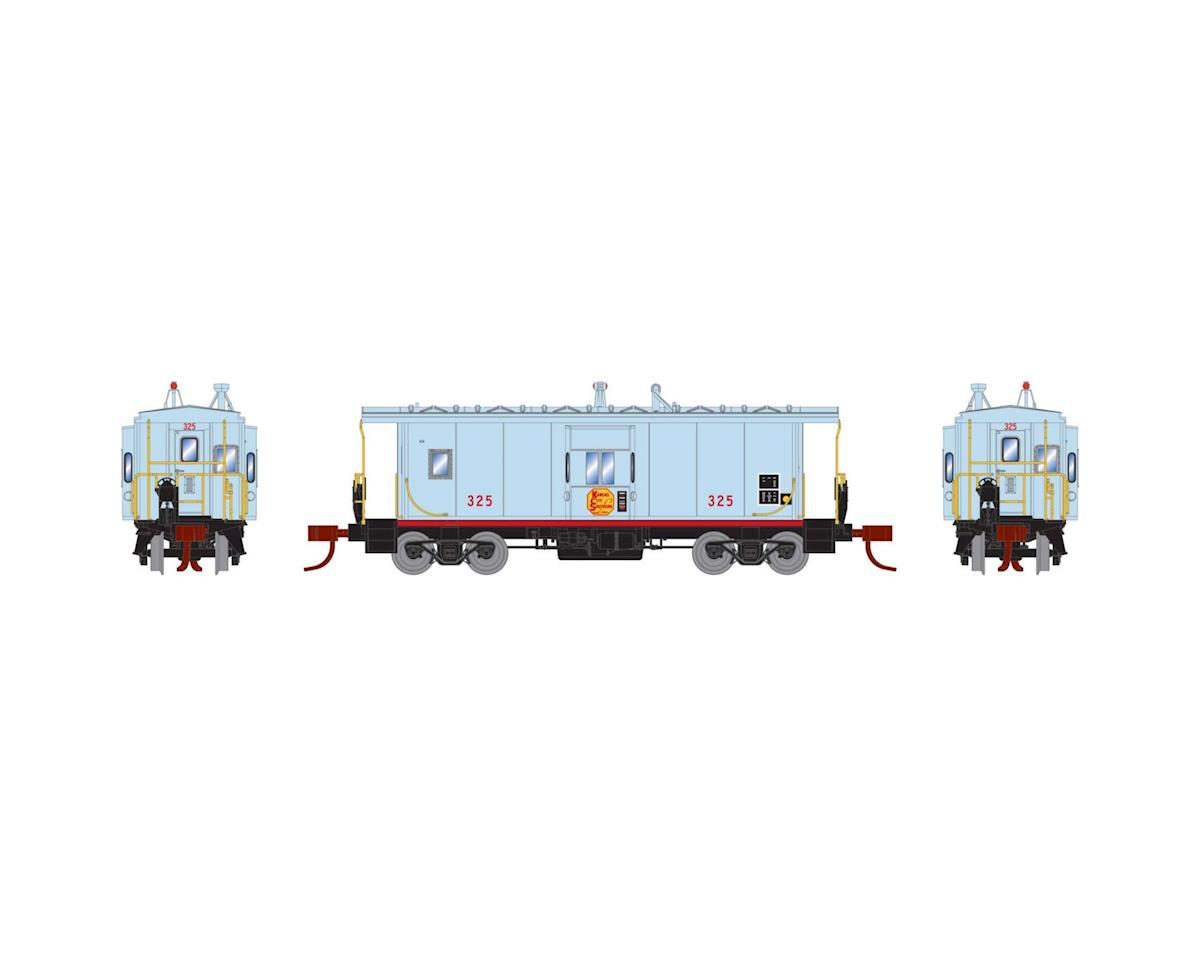 Athearn N Bay Window Caboose, KCS #325