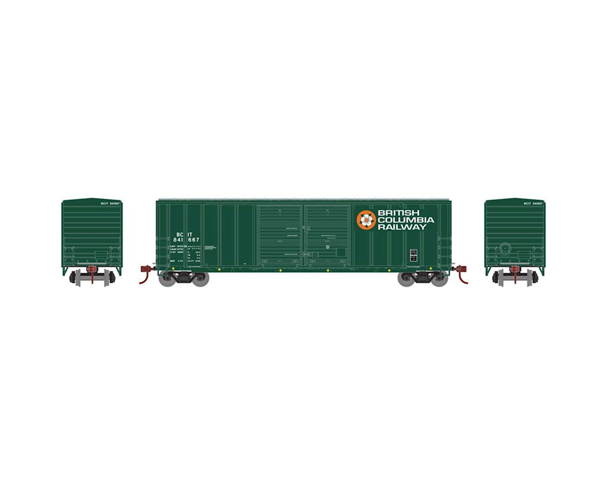 Athearn HO RTR 50' FMC Offset Double Door Box,BCOL #841667