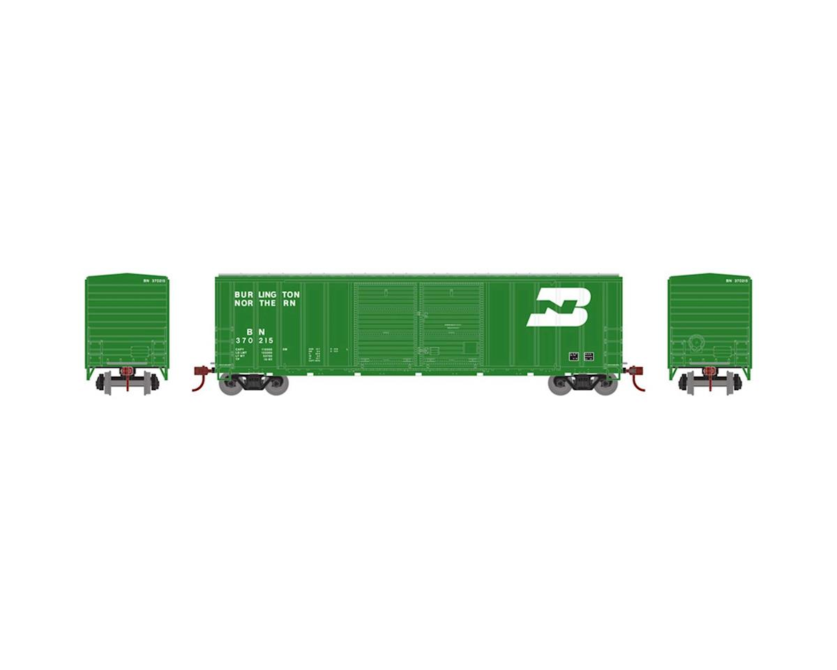 Athearn HO RTR 50' FMC Offset Double Door Box, BN #370215