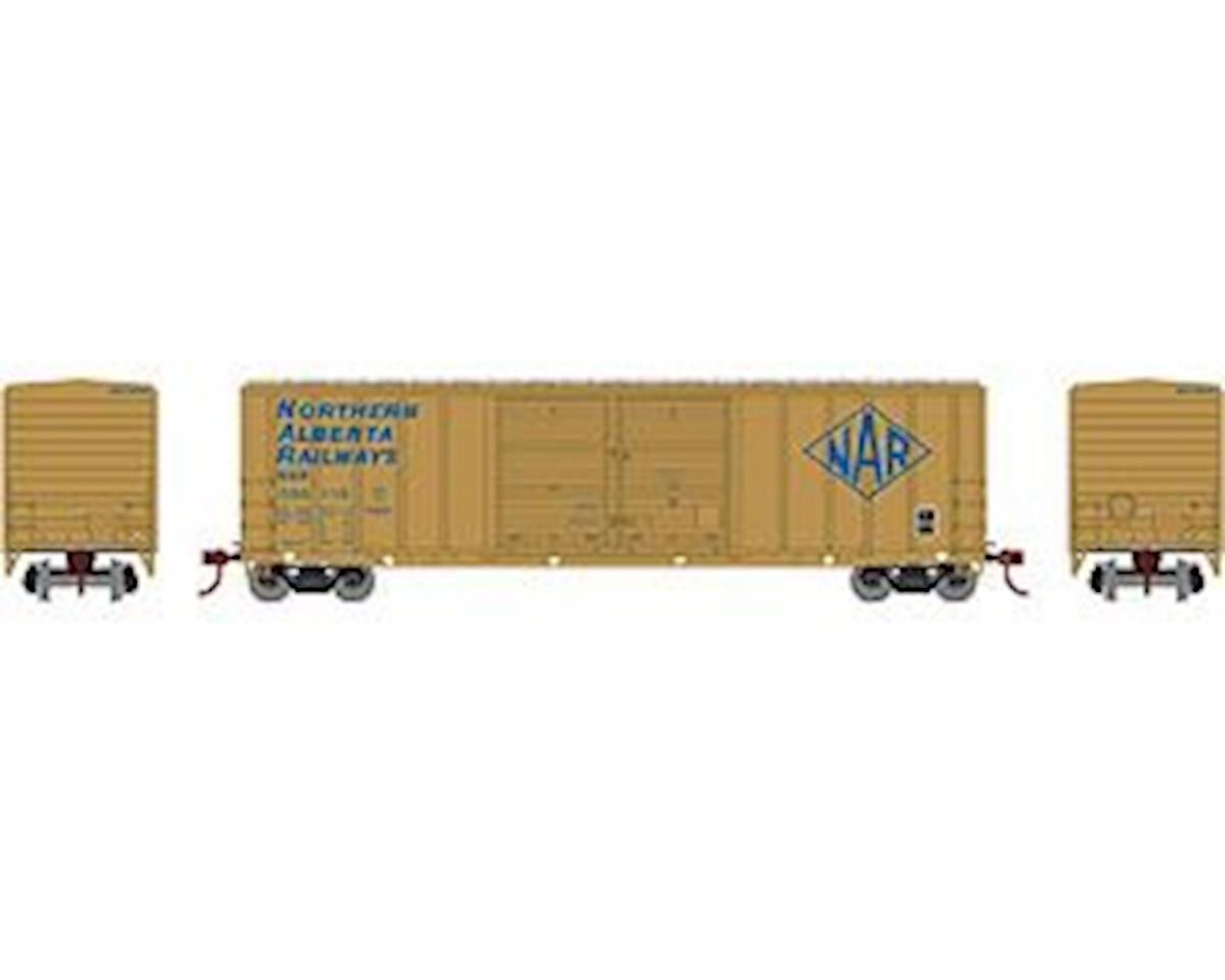 Athearn HO RTR 50' FMC Offset Double Door Box, NAR #050116