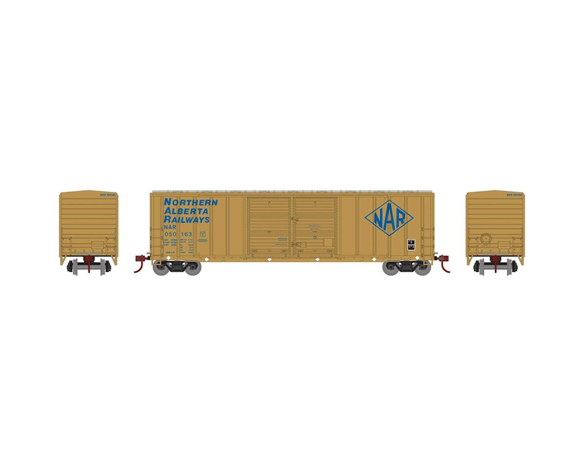 Athearn HO RTR 50' FMC Offset Double Door Box, NAR #050163