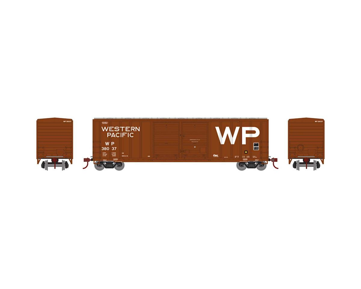 Athearn HO RTR 50' FMC Offset Double Door Box, WP #38037