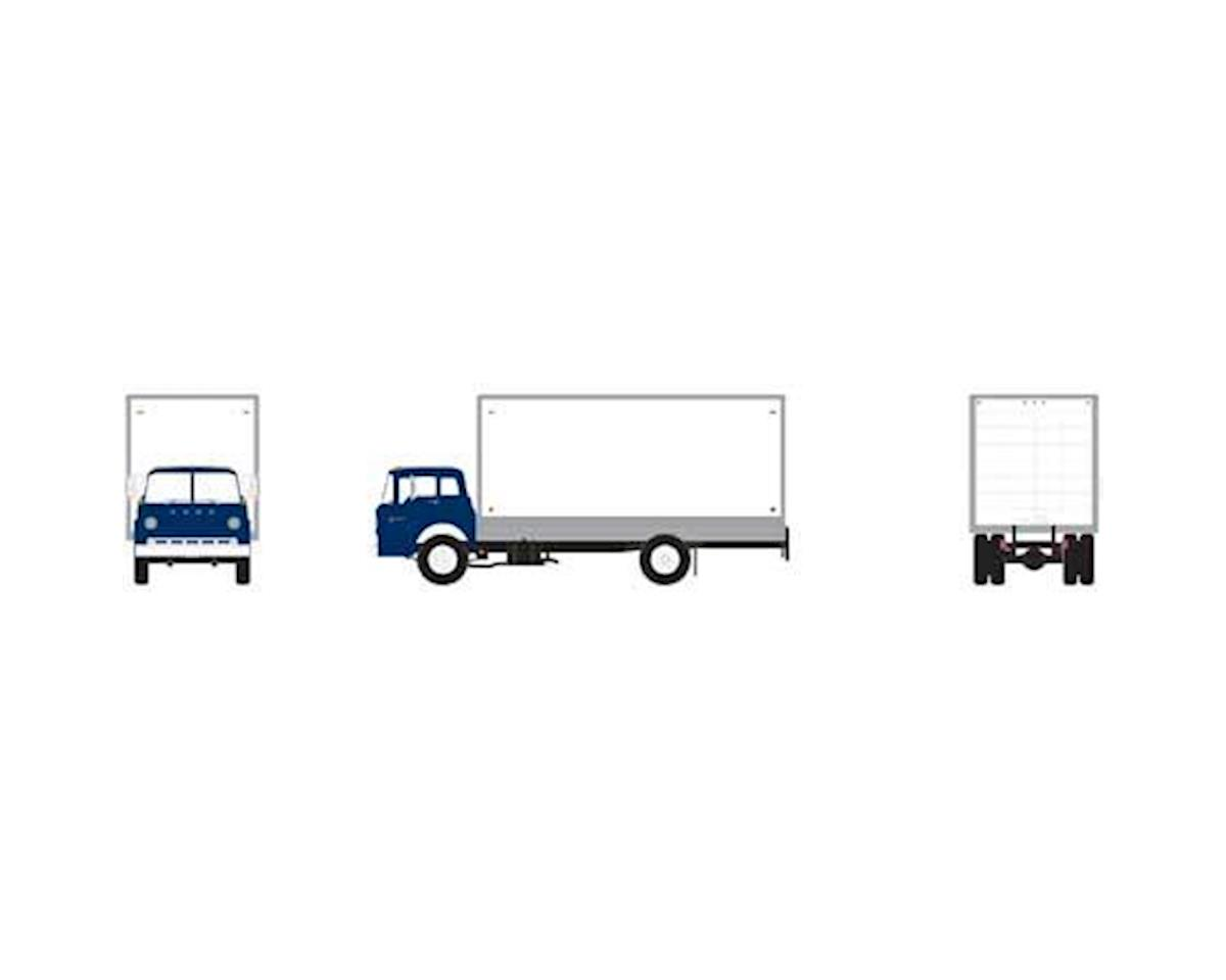 Athearn HO RTR Ford C Box Van, Blue