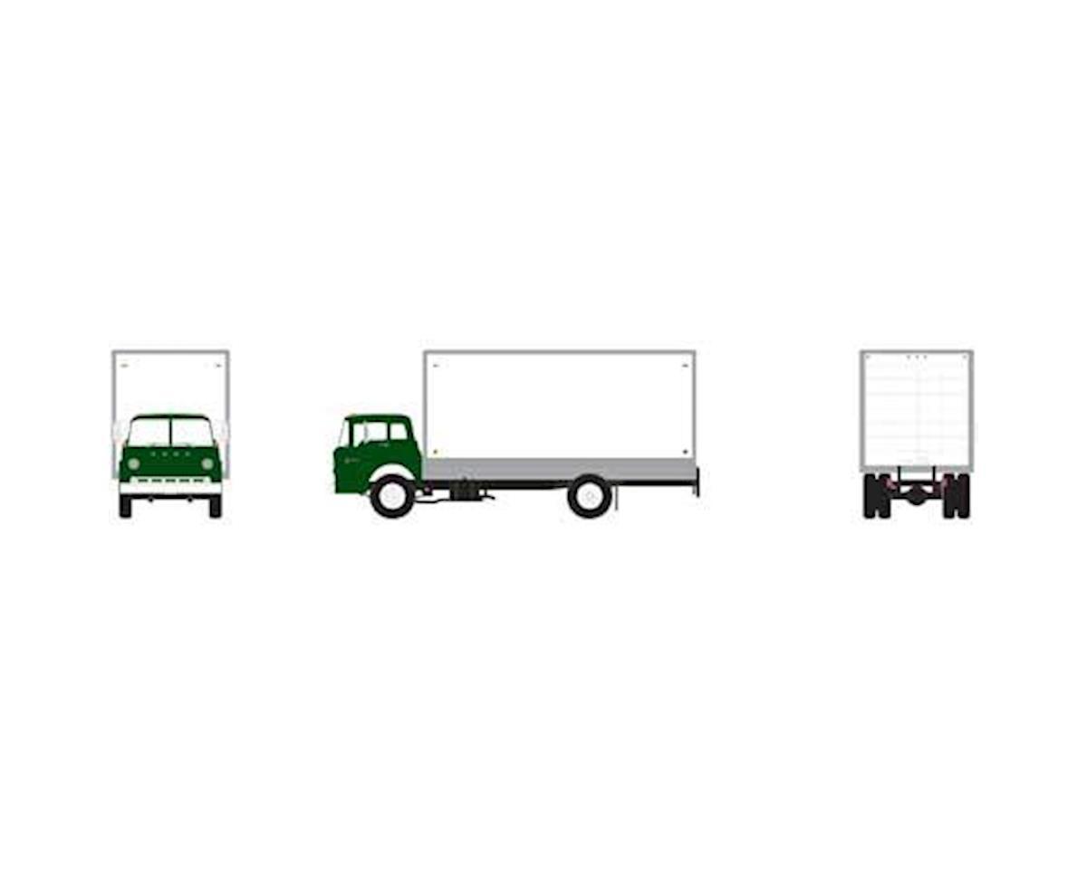 Athearn HO RTR Ford C Box Van, Green