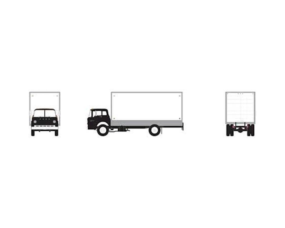 Athearn HO RTR Ford C Box Van, Black