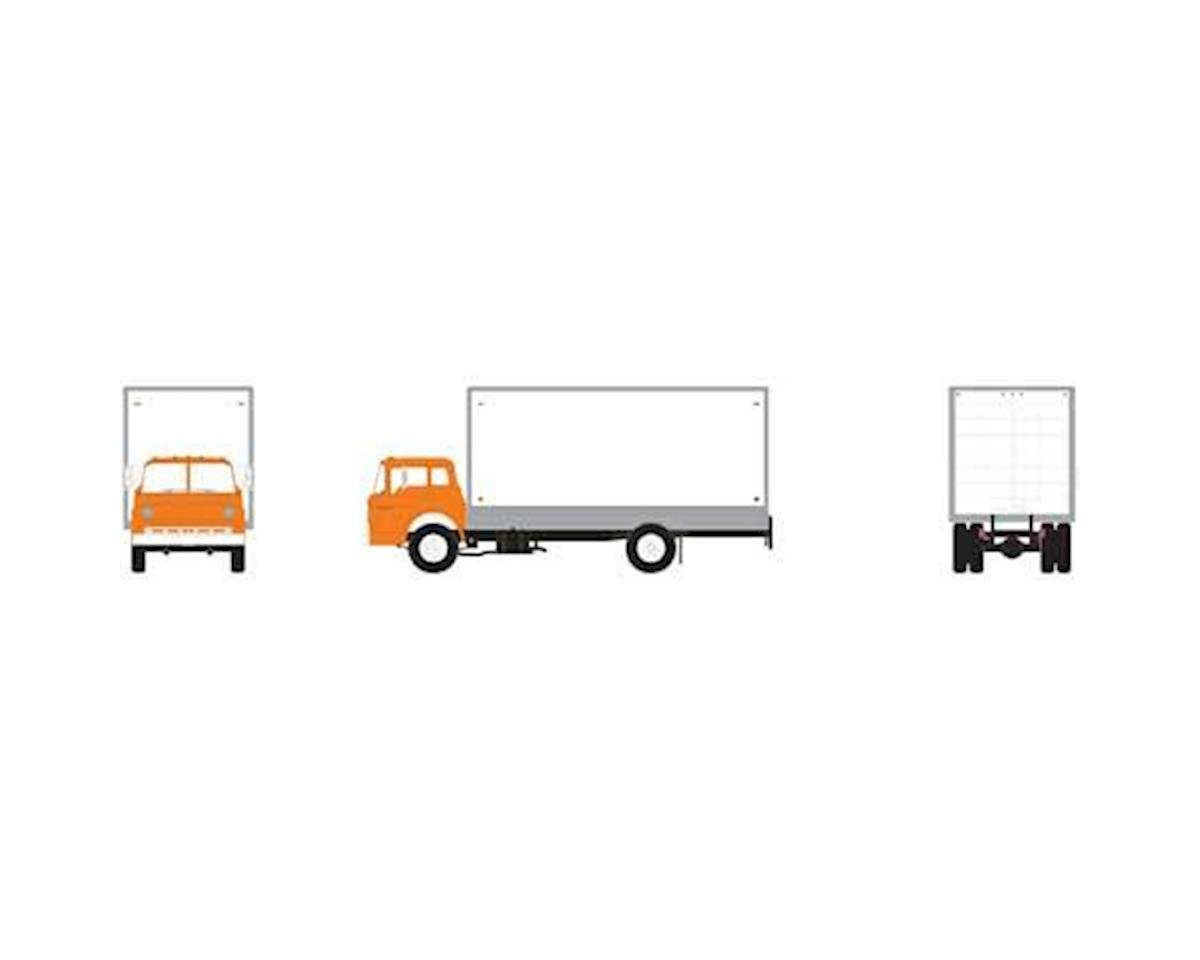 Athearn HO RTR Ford C Box Van, Orange