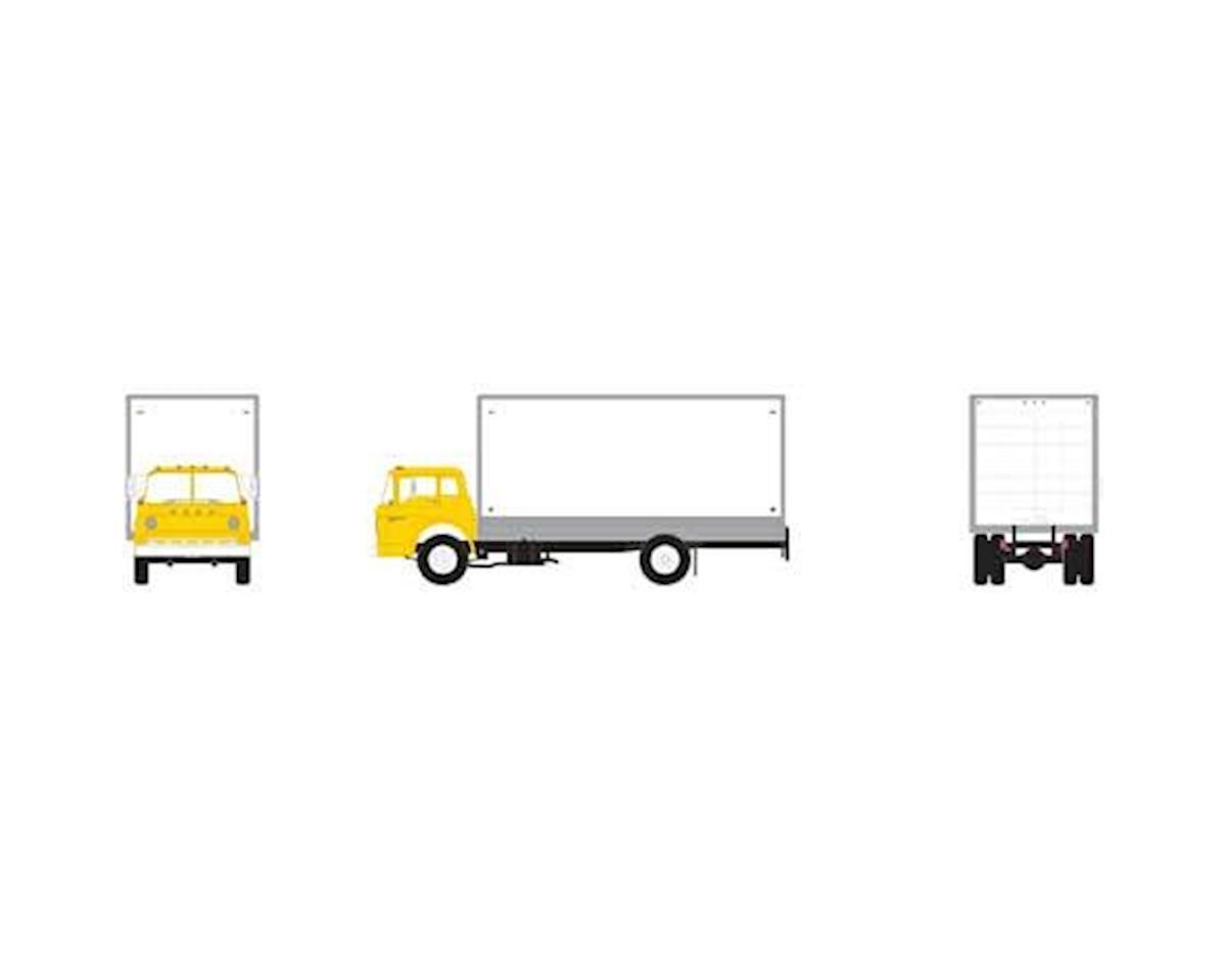 Athearn HO RTR Ford C Box Van, Yellow