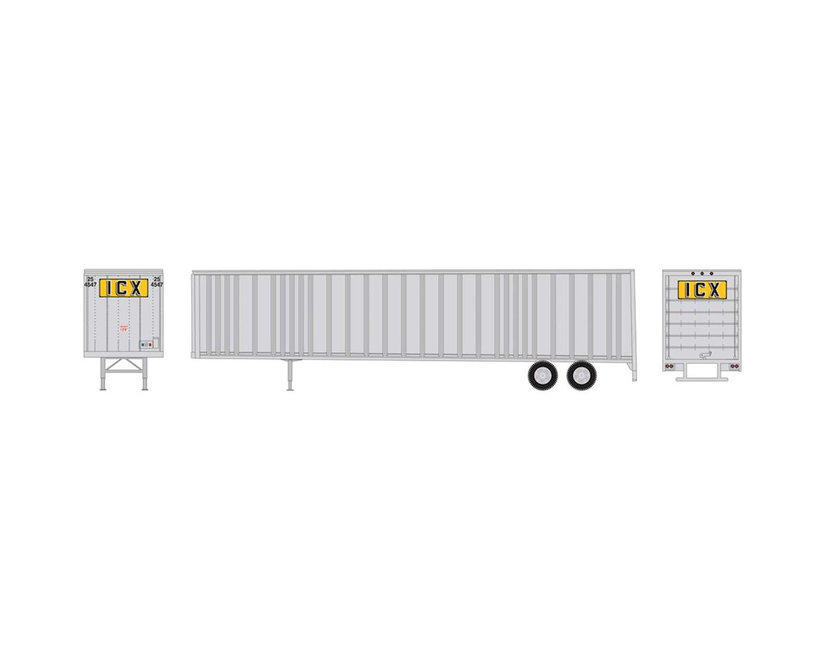Athearn HO RTR 48' Wedge Trailer, ICX #254547