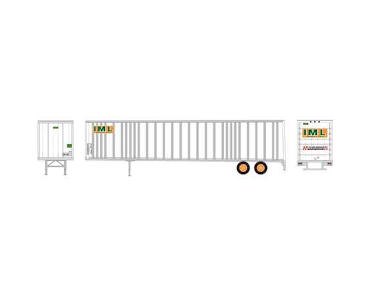Athearn HO RTR 48' Wedge Trailer, IML #70257