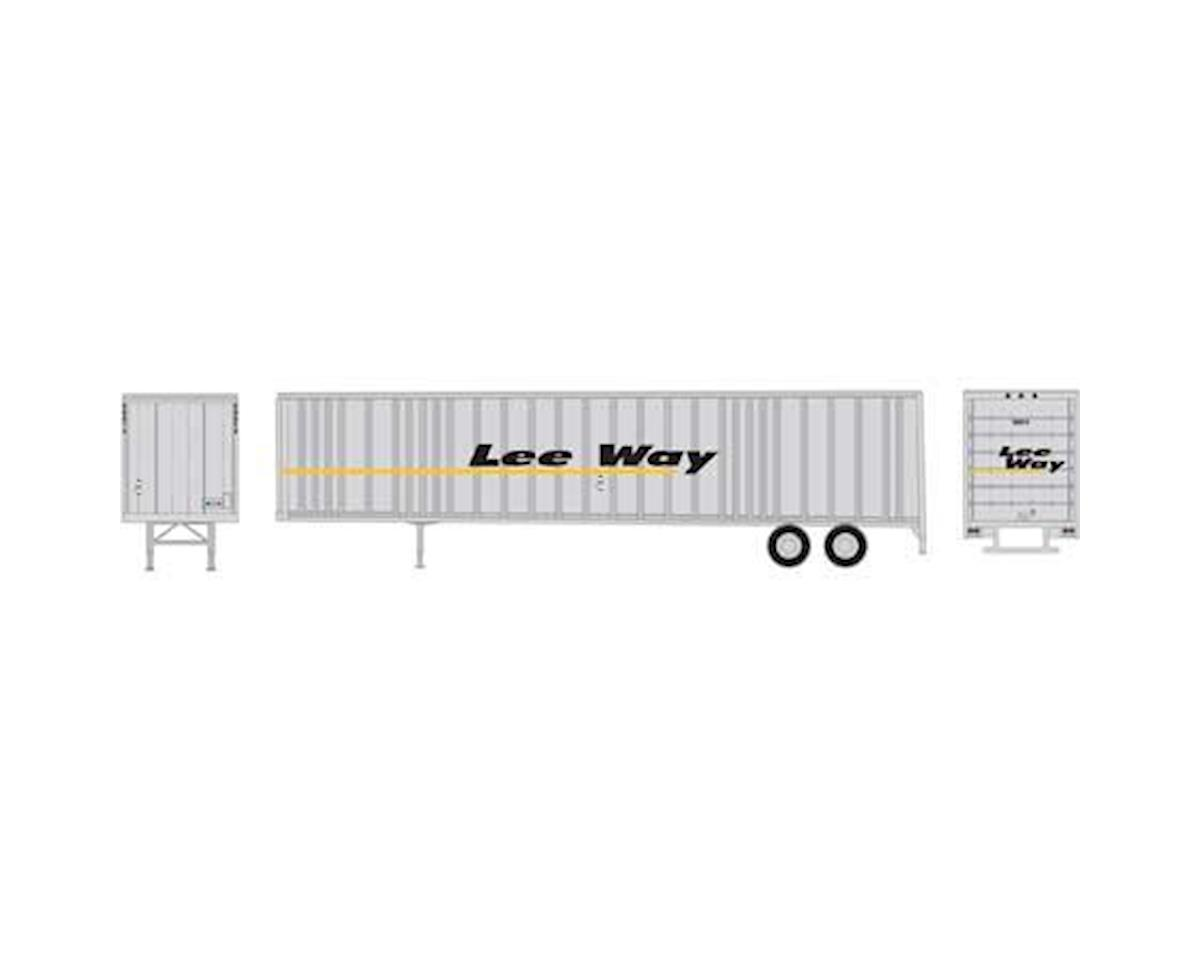 Athearn HO RTR 48' Wedge Trailer, Lee Way #50014