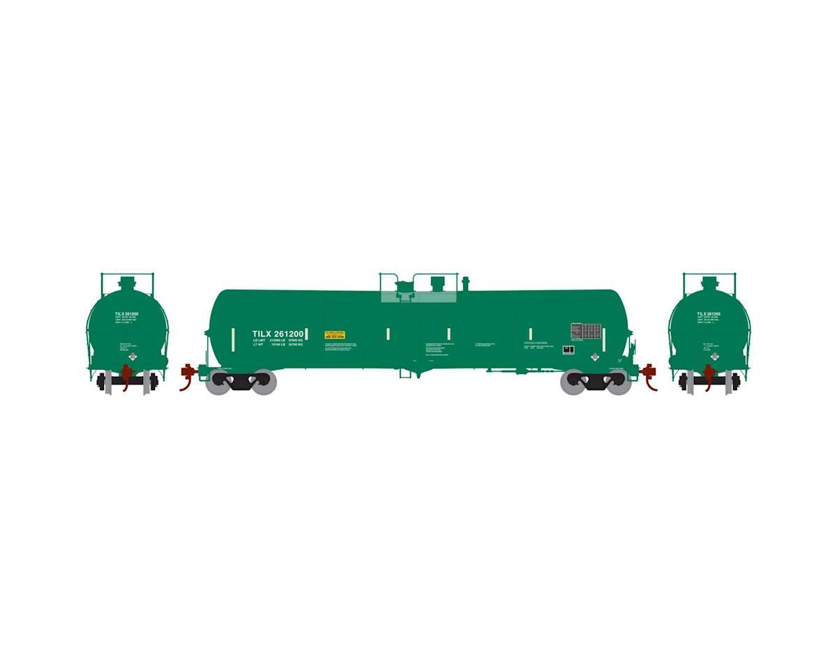 Athearn HO RTR 30,000 Gal Ethanol Tank, TILX/Green #261200