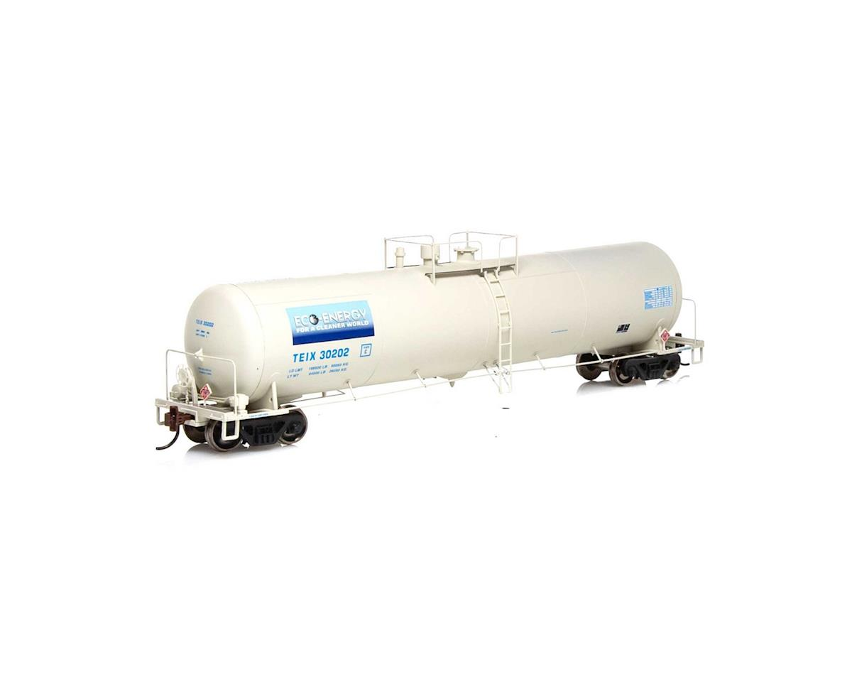 Athearn HO RTR 30,000 Gal Ethanol Tank, TEIX/White #30202