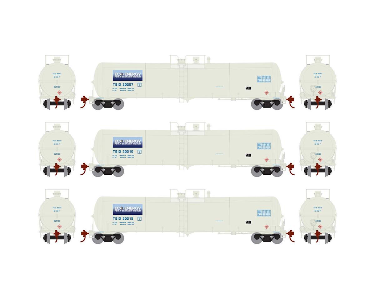 Athearn HO RTR 30,000 Gal Ethanol Tank, TEIX/White #1 (3)