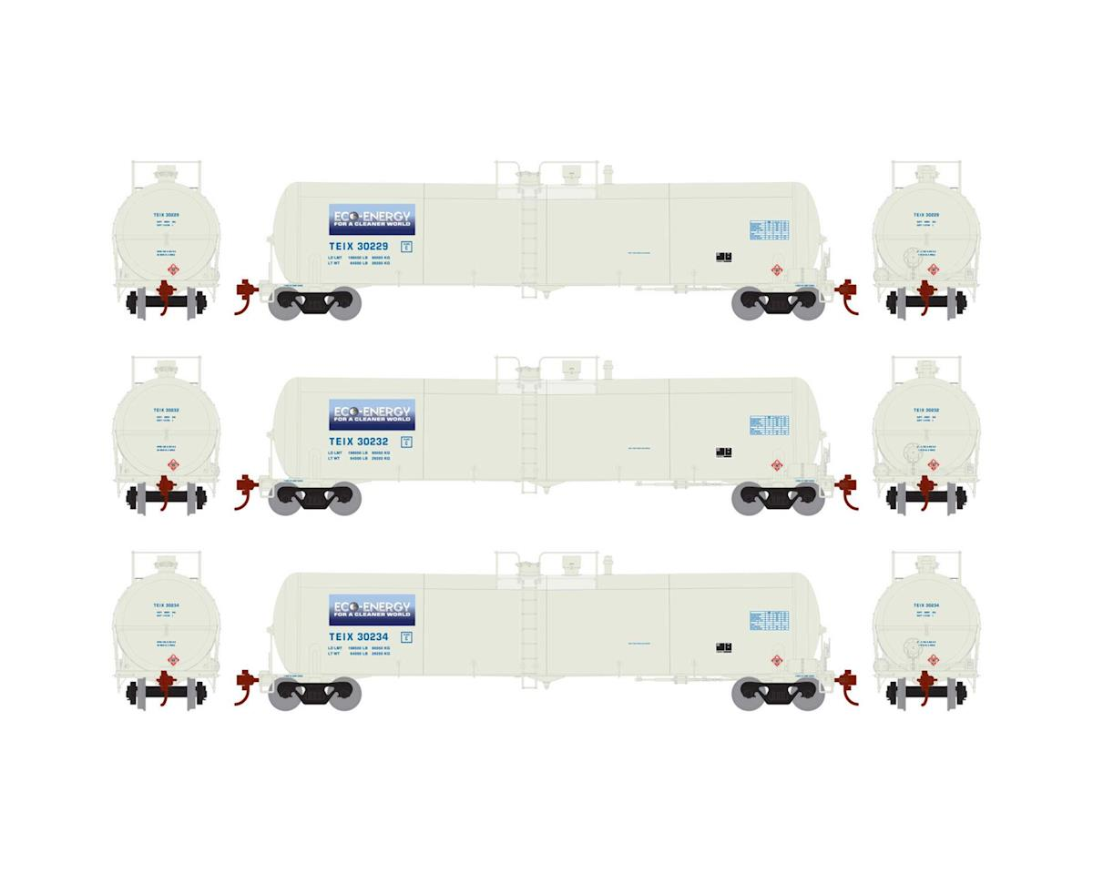Athearn HO RTR 30,000 Gal Ethanol Tank, TEIX/White #3 (3)