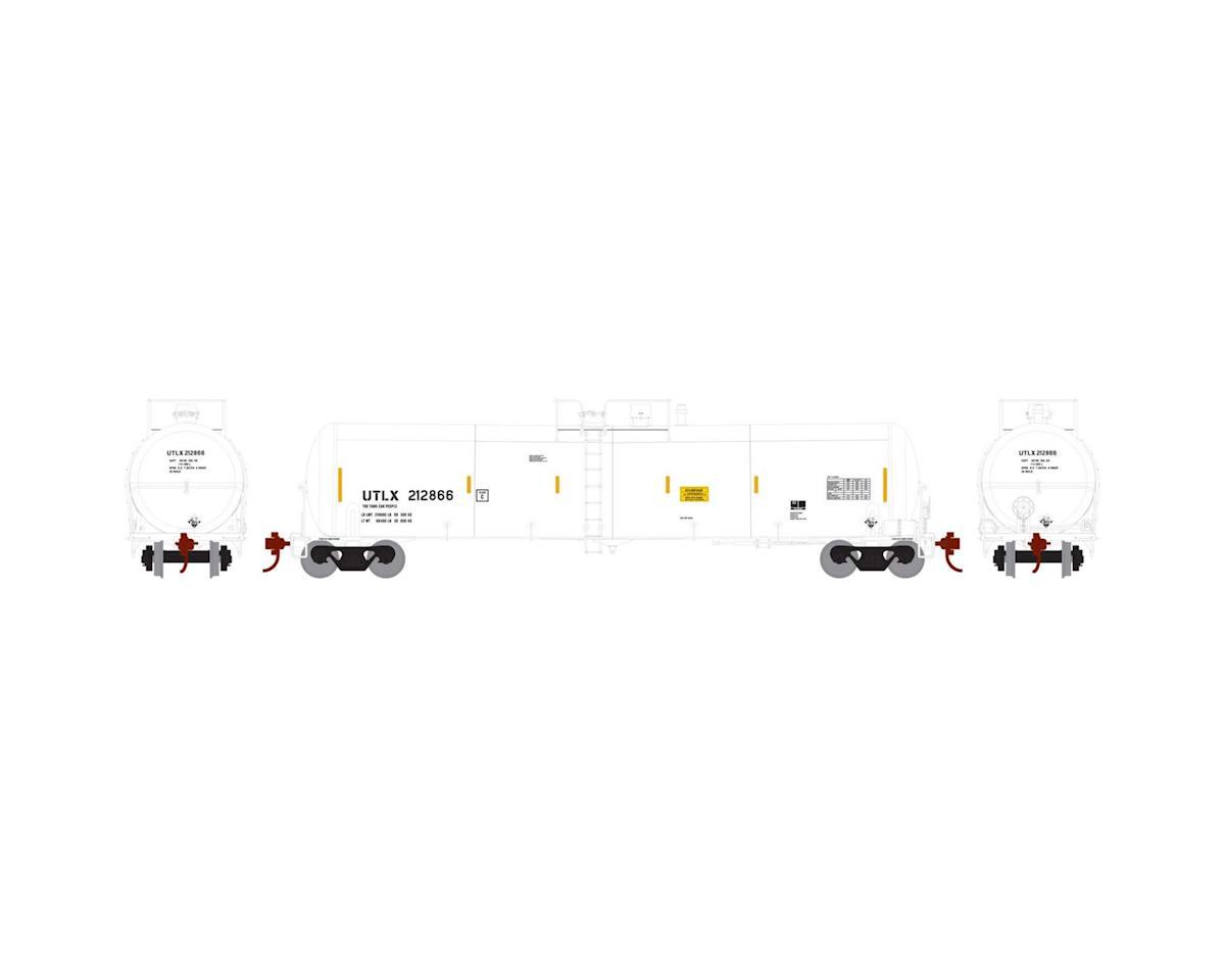 Athearn HO RTR 30,000 Gal Ethanol Tank, UTLX/White #212866