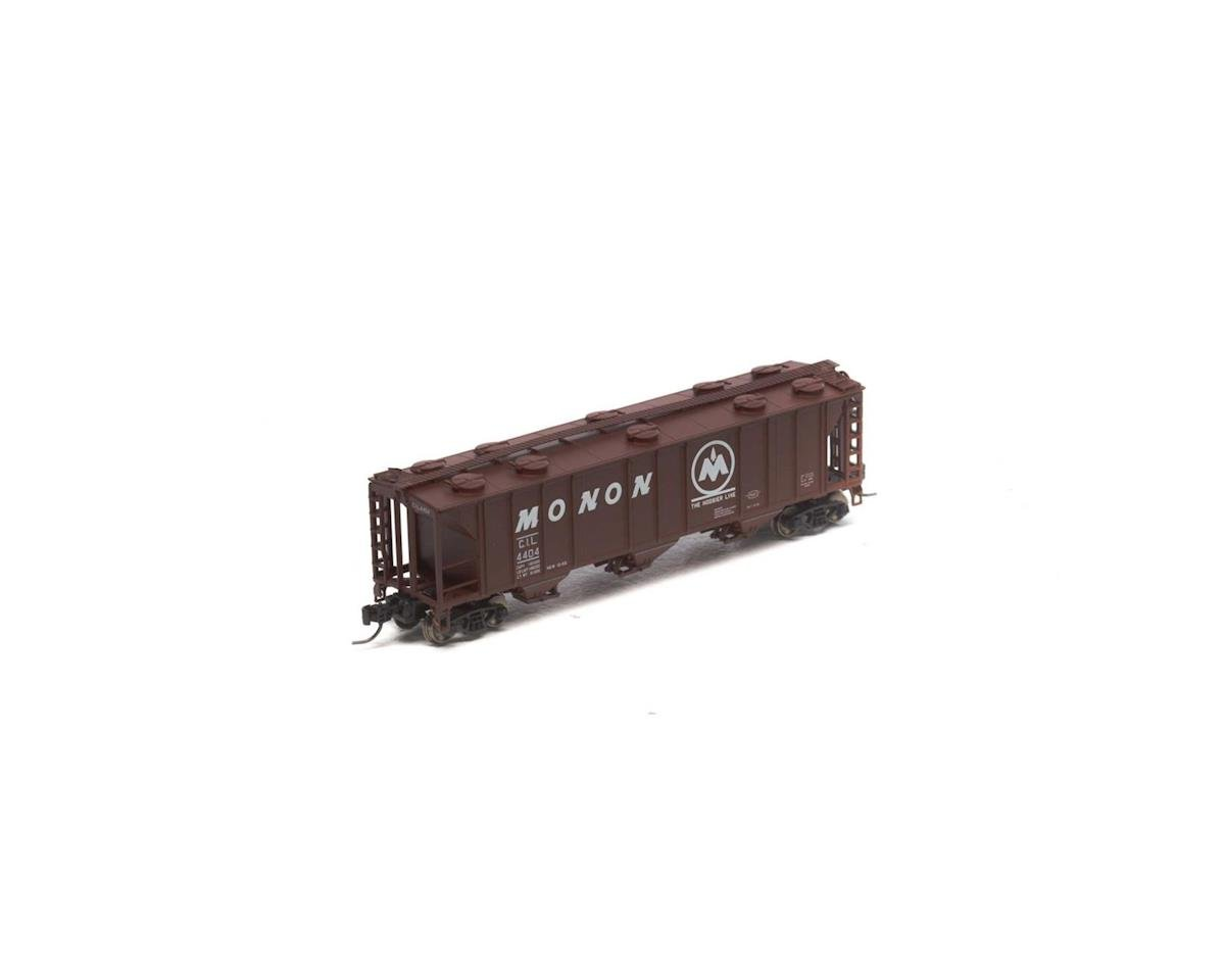 Athearn N PS-2 2893 3-Bay Covered Hopper, Monon #4404