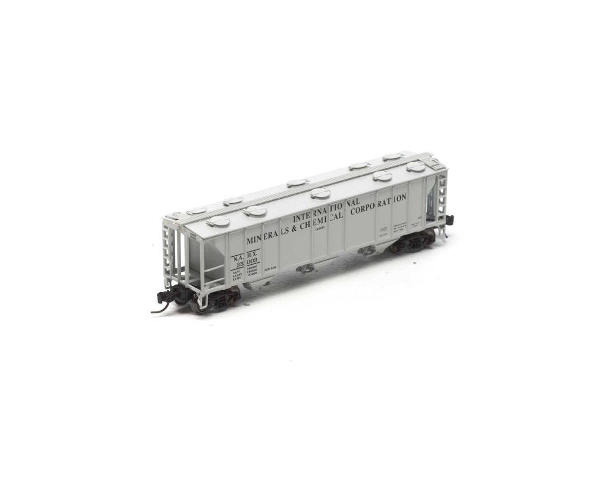 Athearn N PS-2 2893 3-Bay Covered Hopper, NAHX #35009