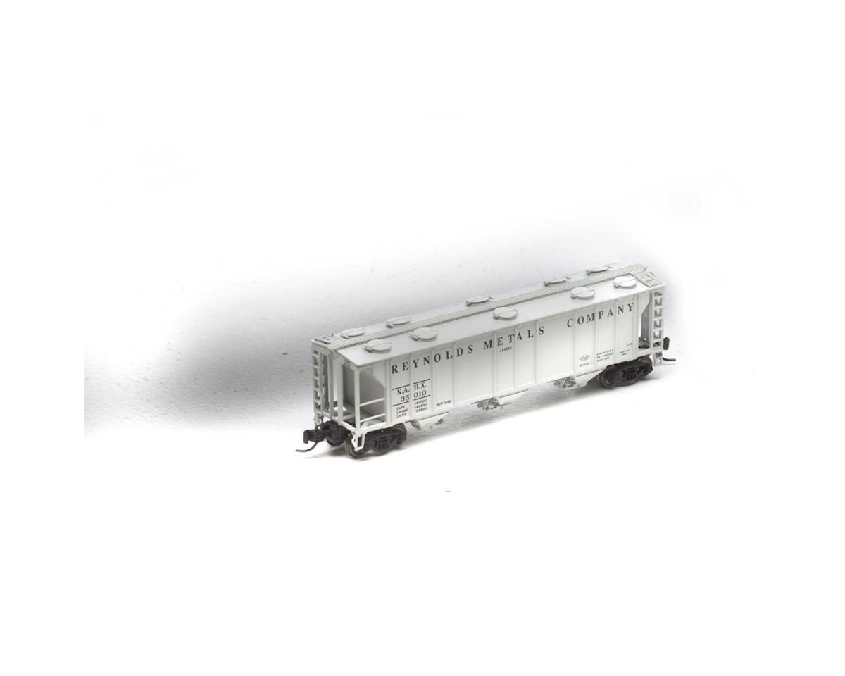 Athearn N PS-2 2893 3-Bay Covered Hopper, NAHX #35010
