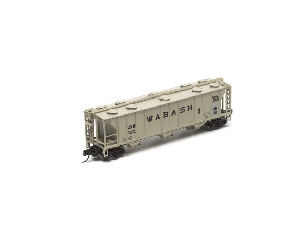 Athearn N PS-2 2893 3-Bay Covered Hopper, WAB #31189