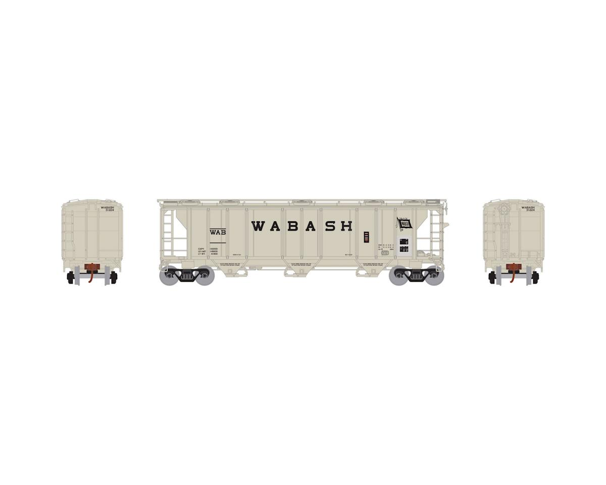 Athearn N PS-2 2893 3-Bay Covered Hopper, WAB #31224