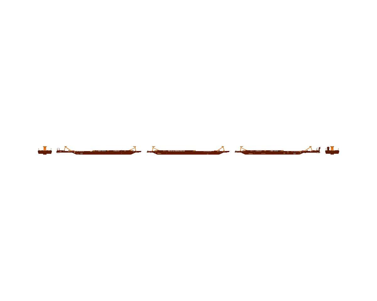 Athearn HO RTR 57' Trinity Spine Car, BNSF #300535