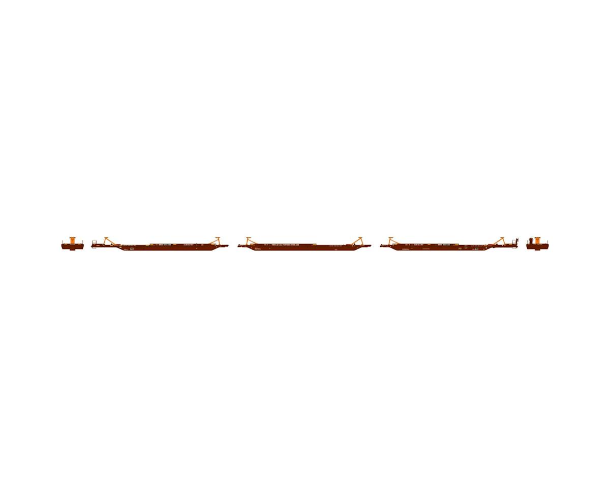 Athearn HO RTR 57' Trinity Spine Car, BNSF #300563