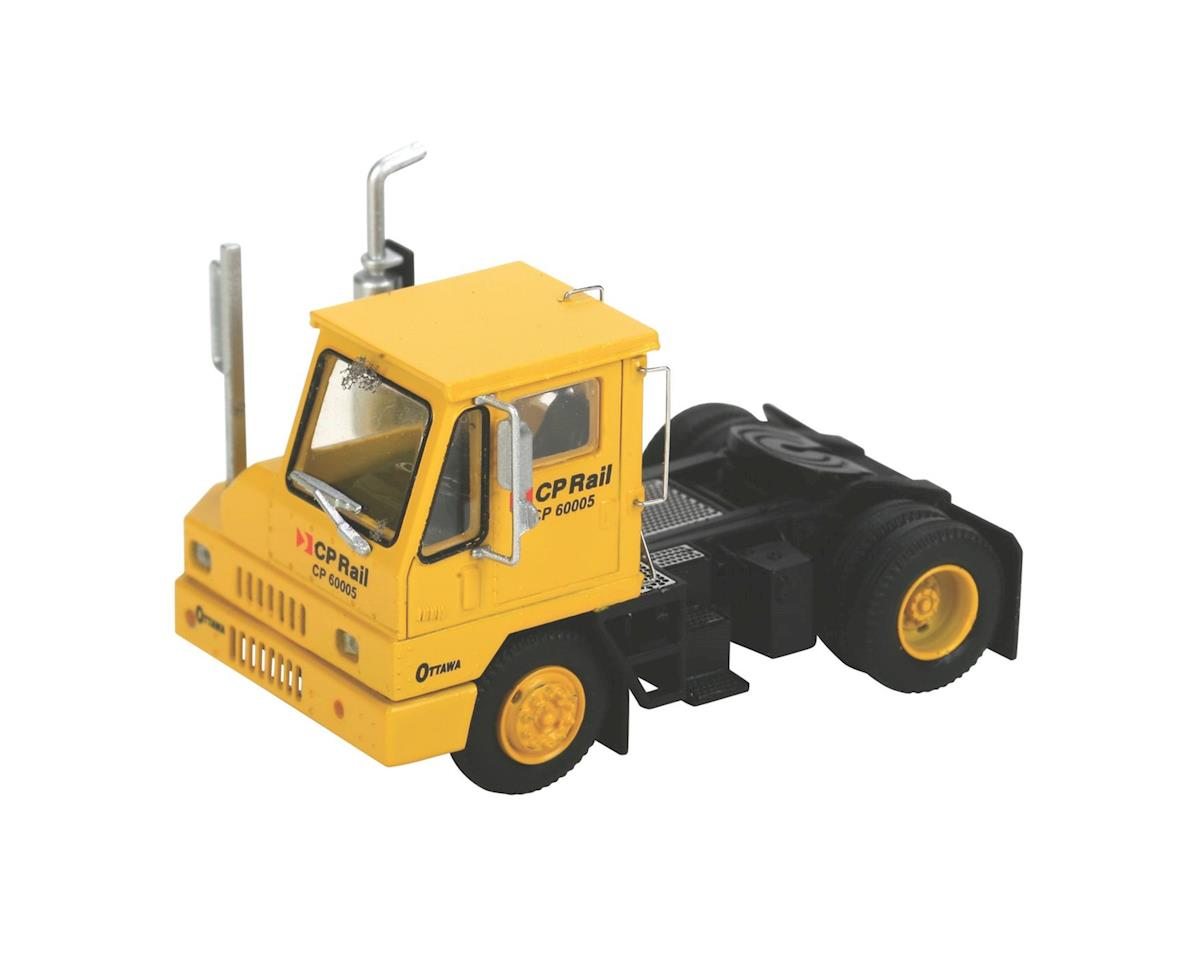 Athearn HO RTR Yard Tractor, CPR/Yellow