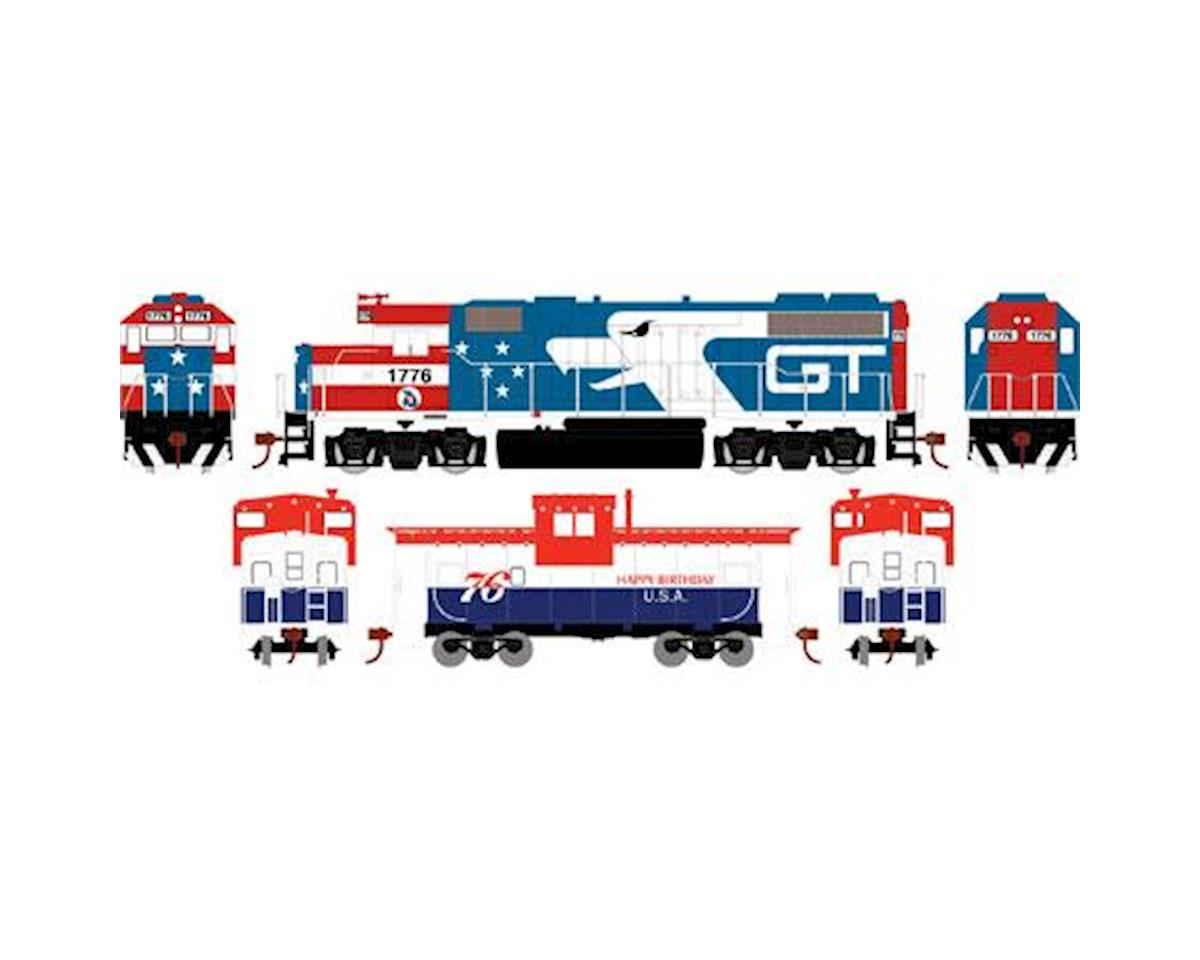 Athearn HO GP38-2 Iron Horse Train Set, GT/Bicentennial