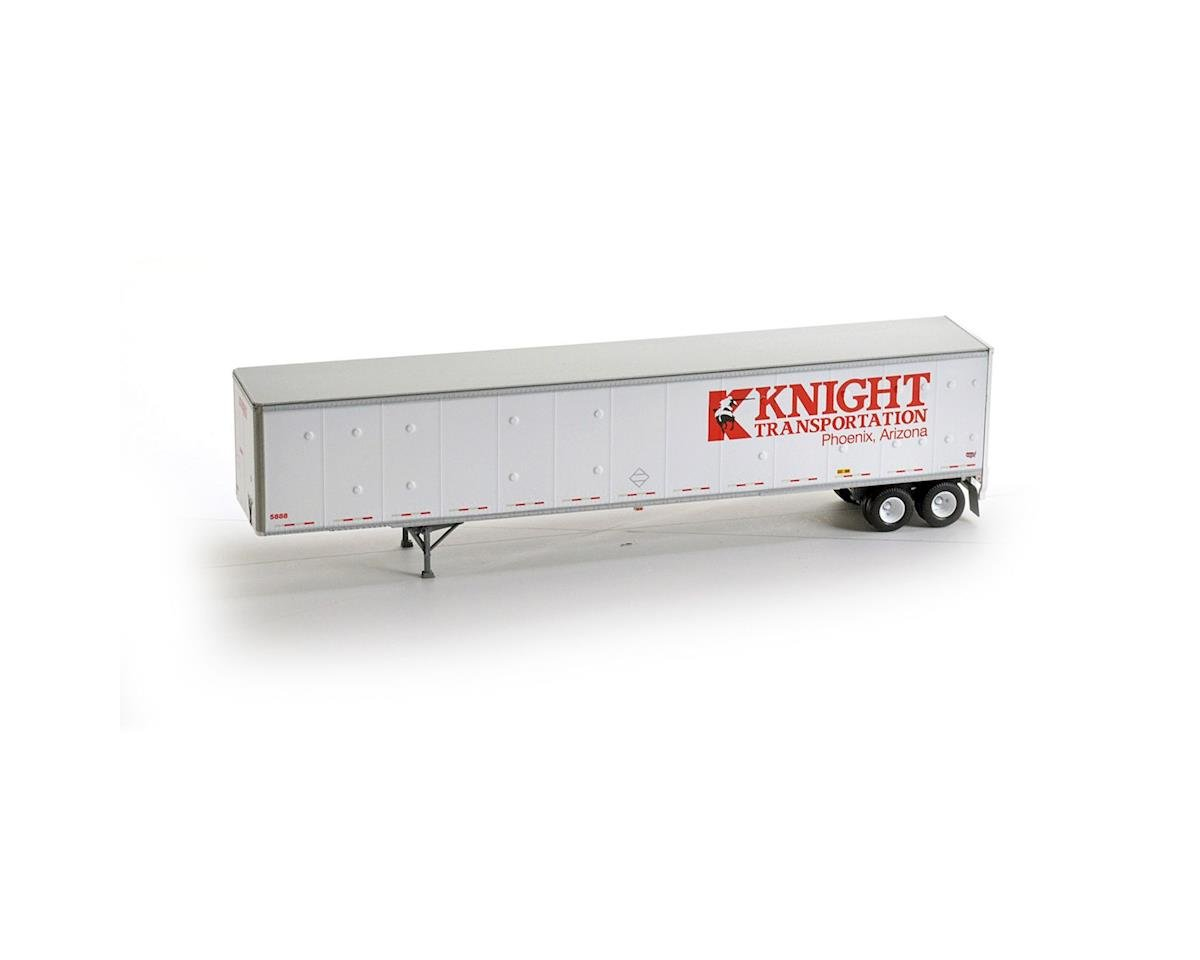 Athearn HO RTR 53' Duraplate Trailer, Knight #5888