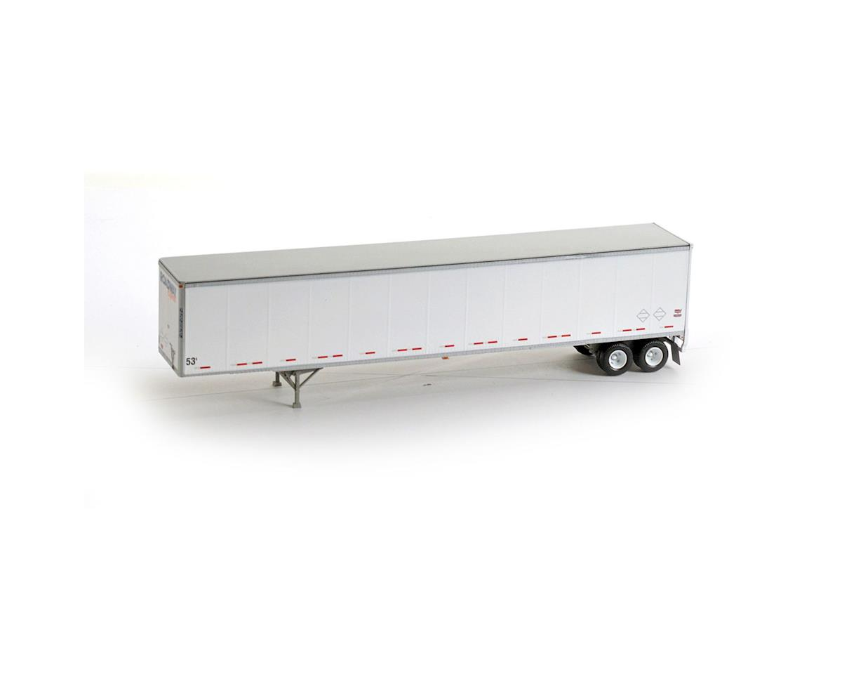 Athearn HO RTR 53' Duraplate Trailer, Roadway #252052