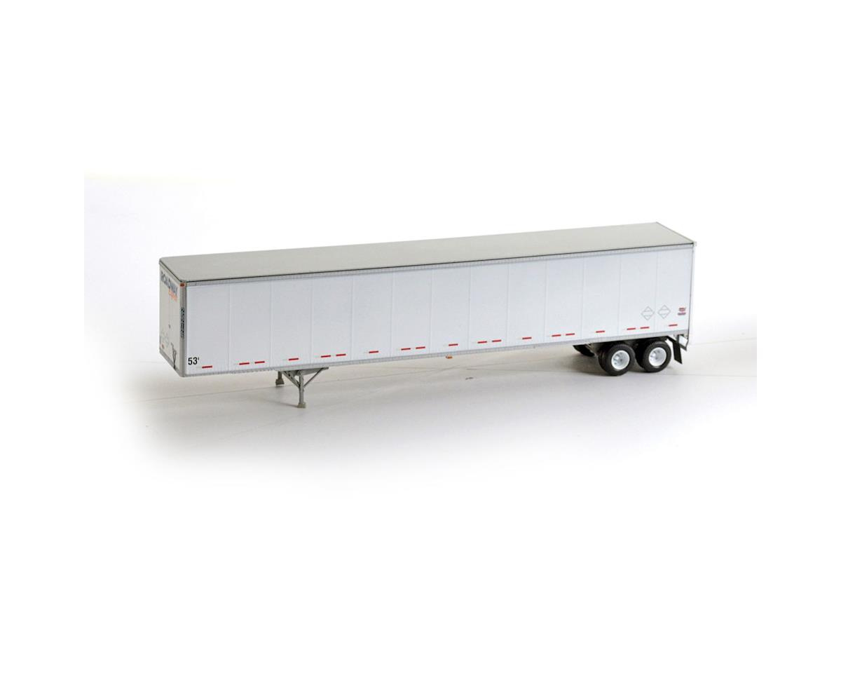 Athearn HO RTR 53' Duraplate Trailer, Roadway #252129