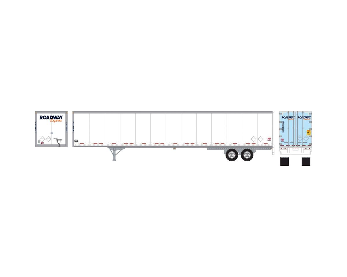 Athearn HO RTR 53' Duraplate Trailer, Roadway #252178