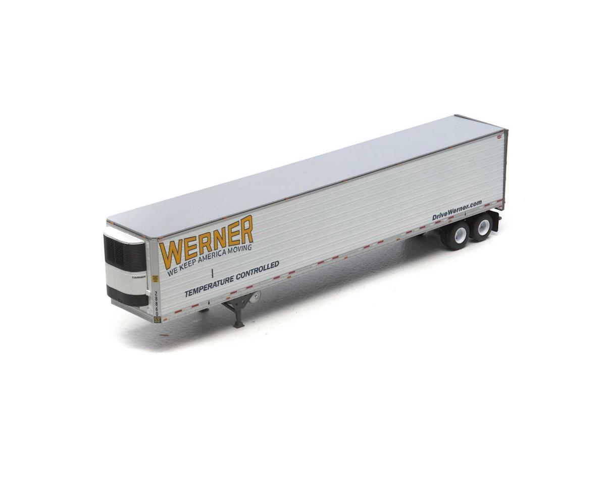 Athearn HO RTR 53' Reefer Trailer, Werner #28860