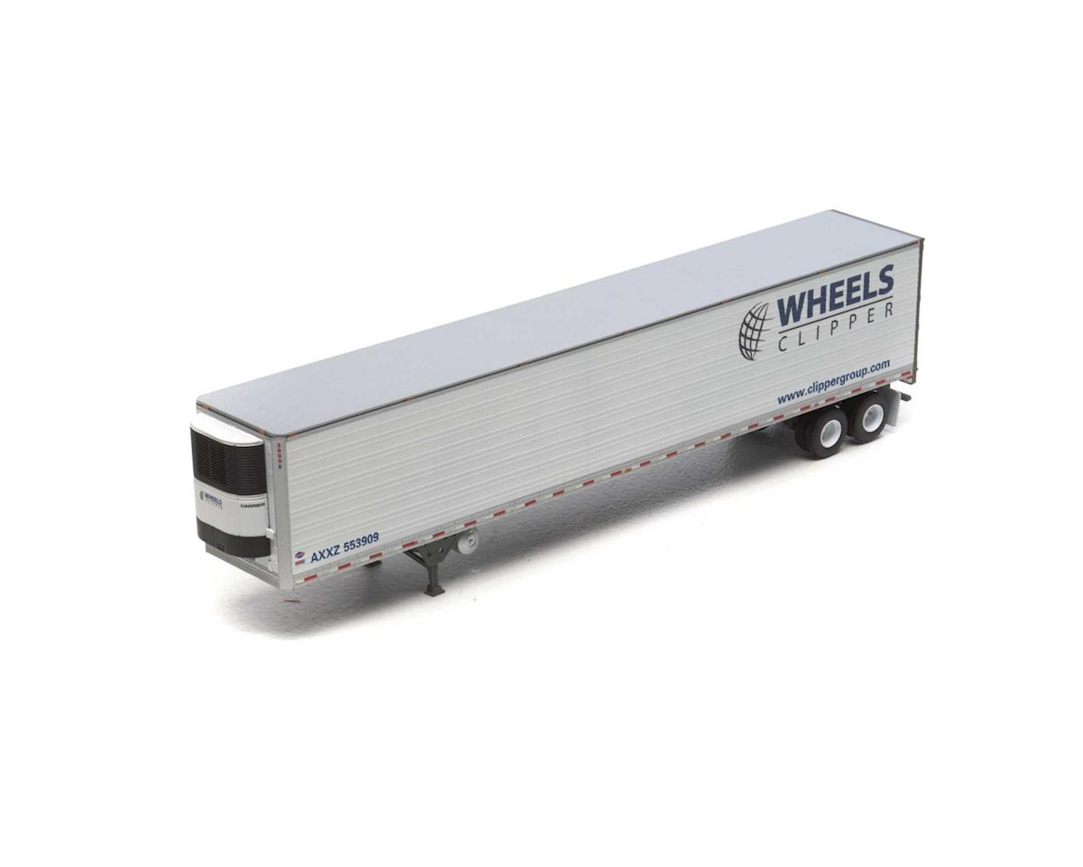 HO RTR 53' Reefer Trailer, Wheels Clipper #553909 by Athearn