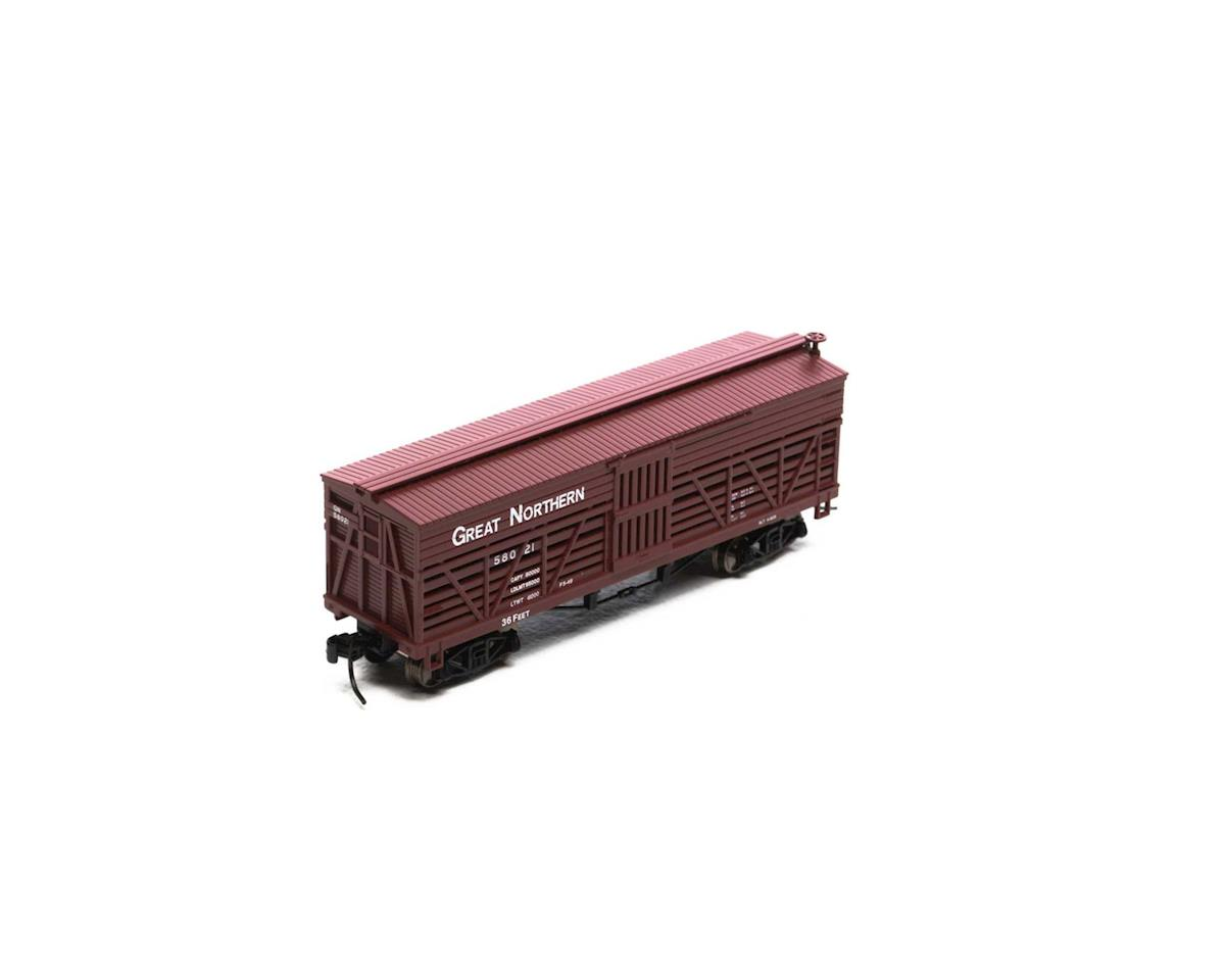 Athearn N 36' Old Time Stock Car, GN #58021