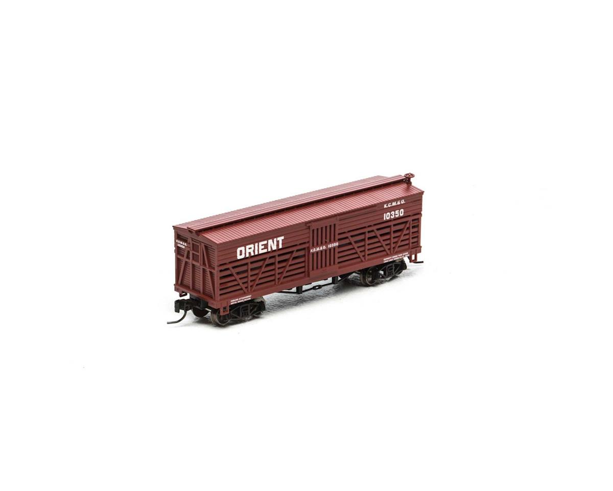 Athearn N 36' Old Time Stock Car, KCM&O #10350