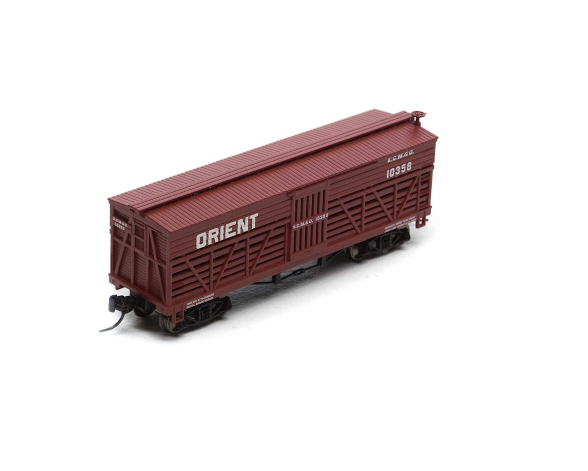 Athearn N 36' Old Time Stock Car, KCM&O #10358