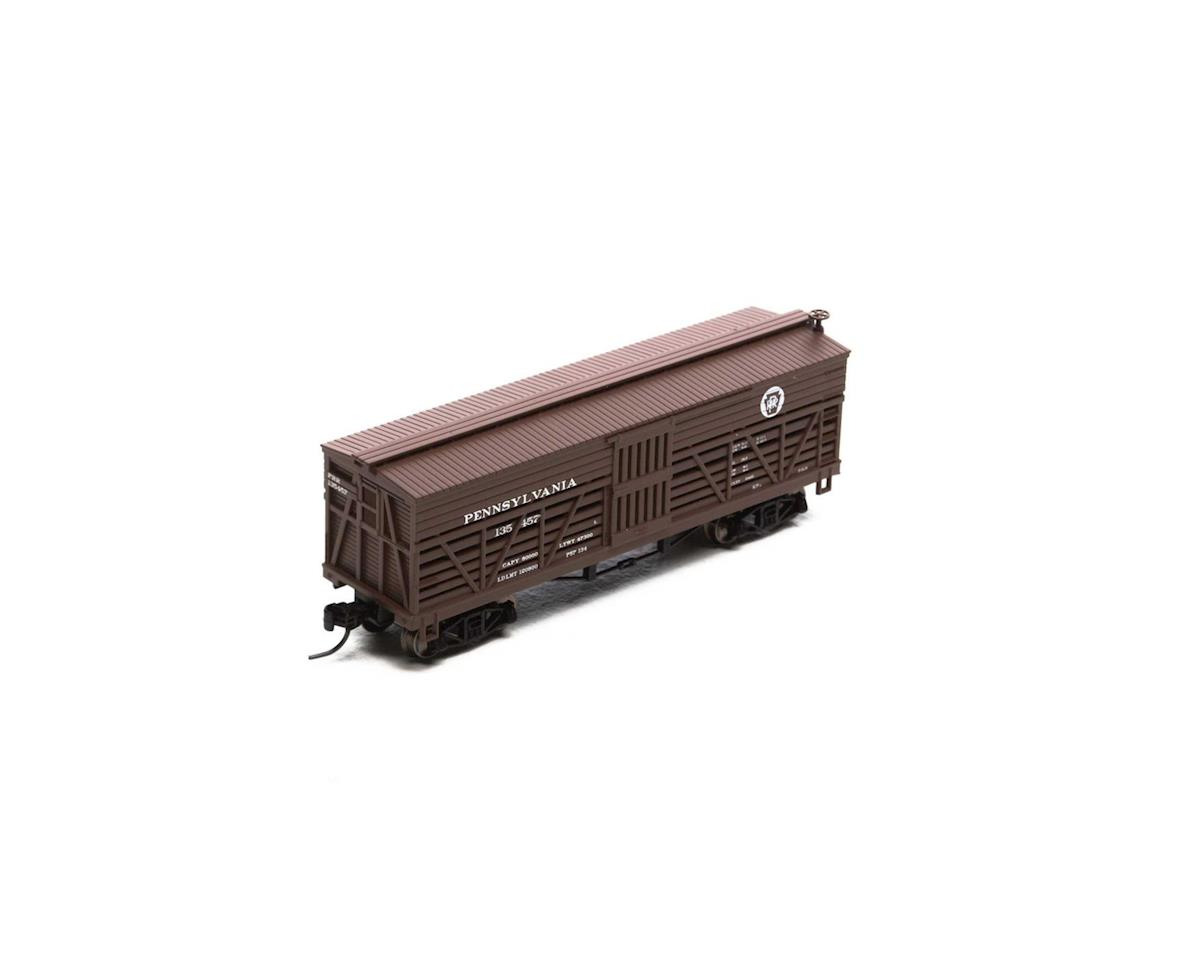 Athearn N 36' Old Time Stock Car, PRR #135457