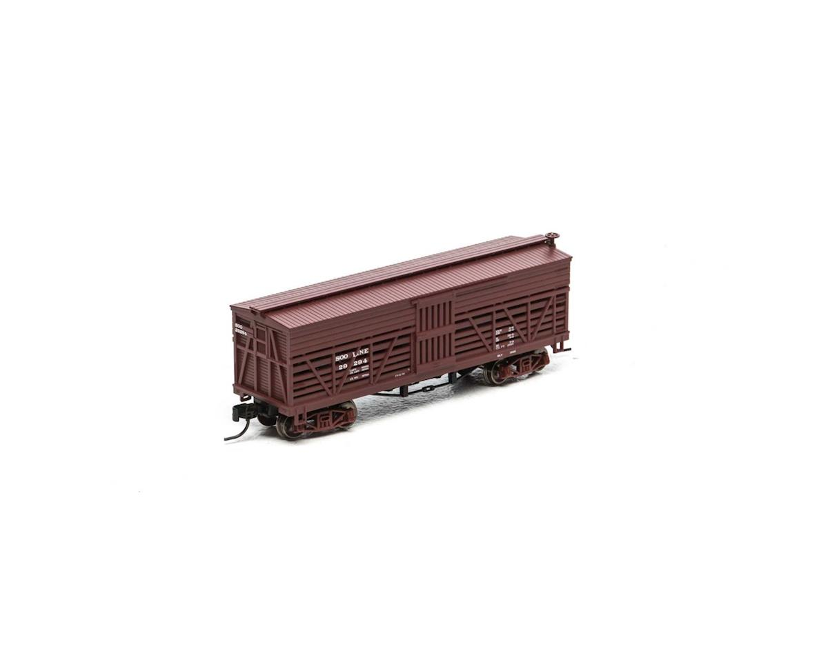 Athearn N 36' Old Time Stock Car, SOO #29294