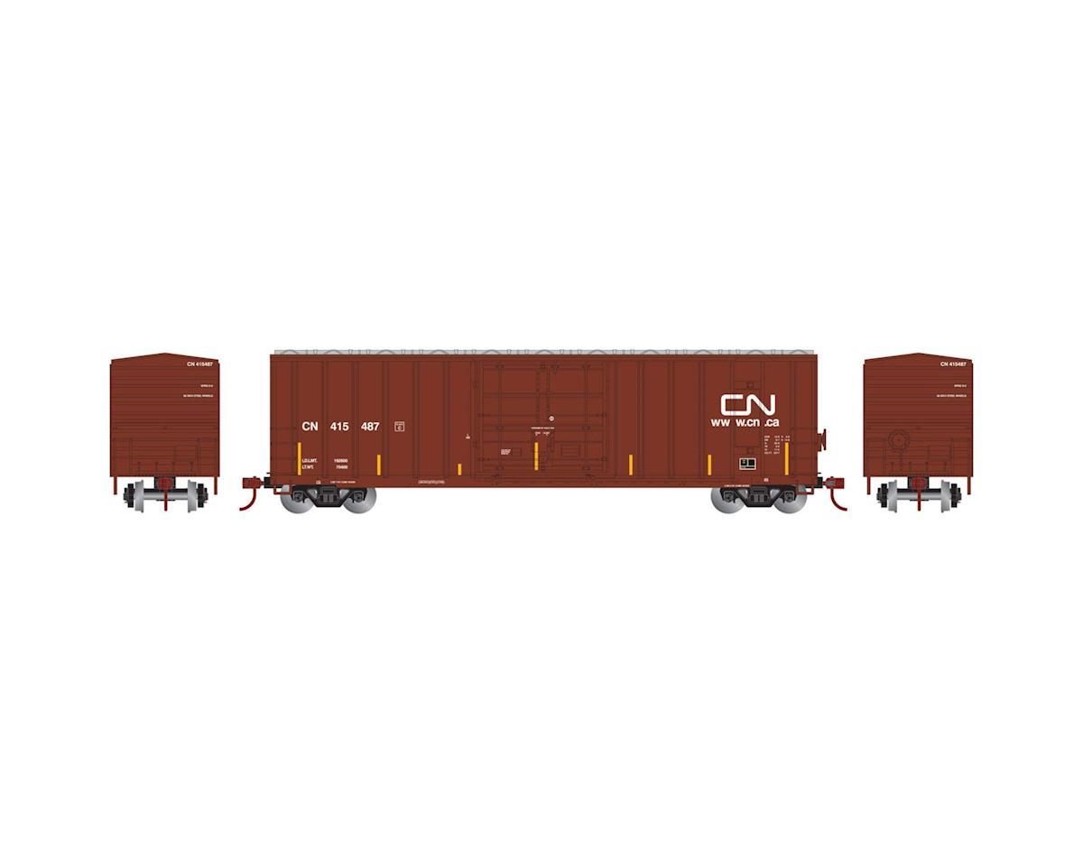 Athearn N 50' FMC Superior Plug Door Box, CN #415487
