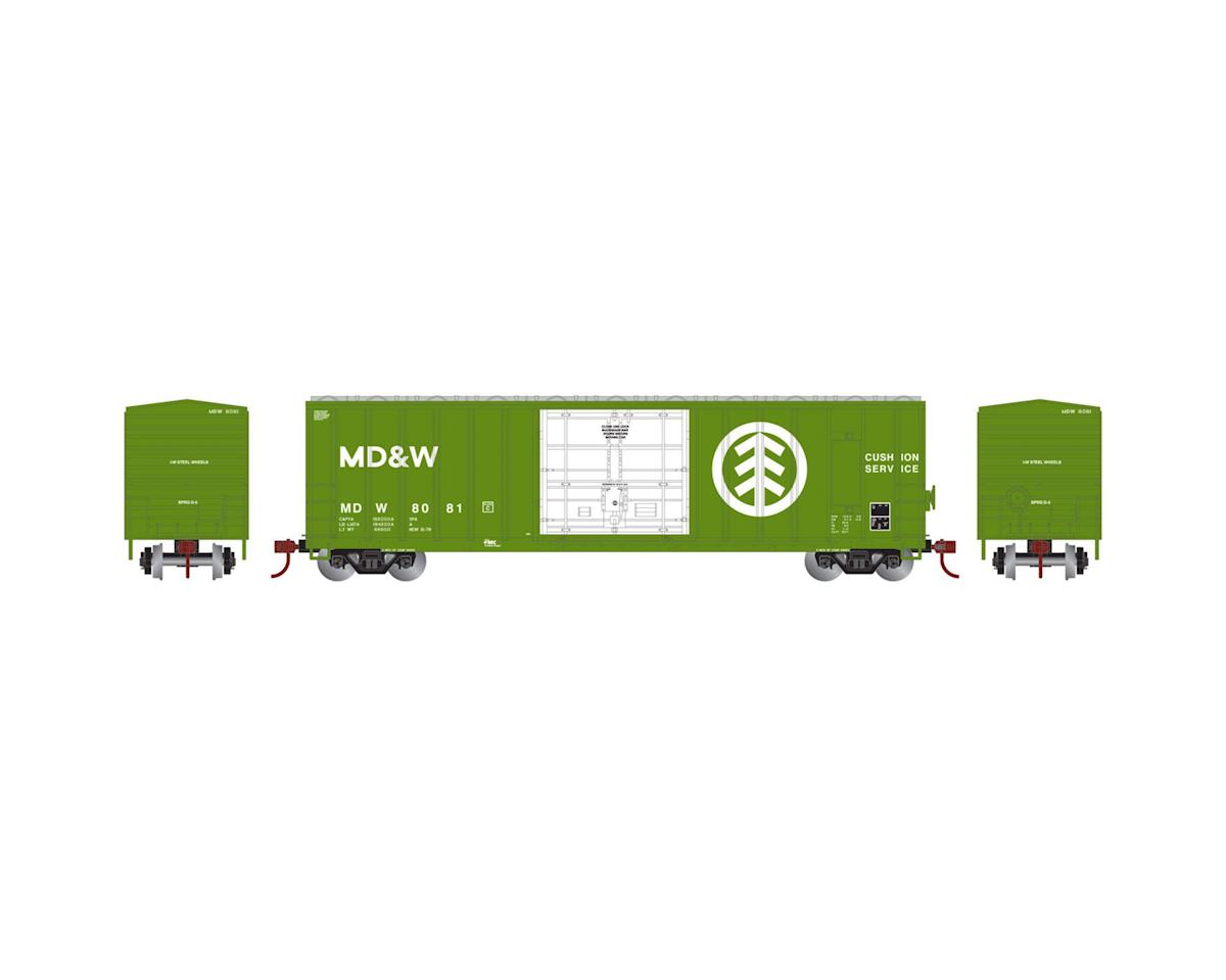 Athearn N 50' FMC Superior Plug Door Box, MD&W #8081