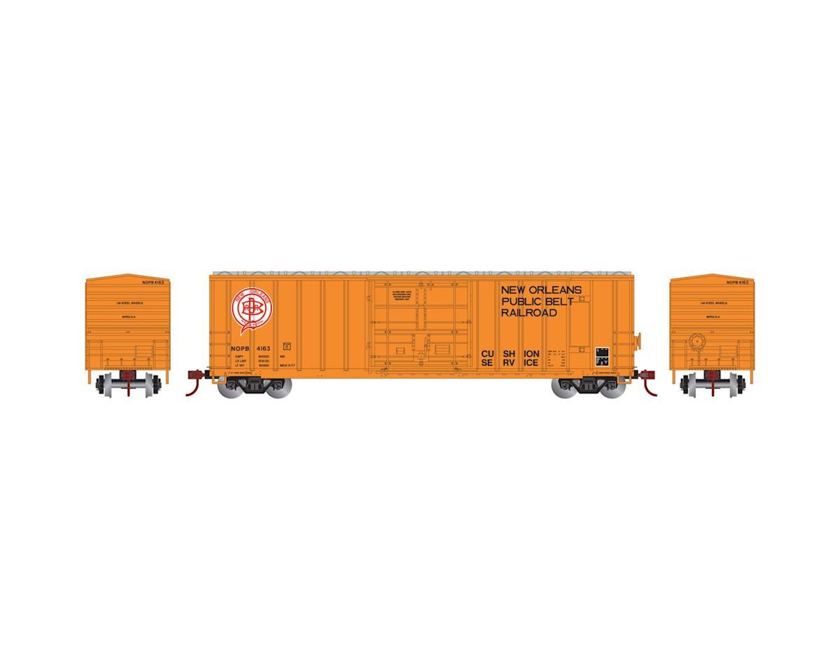 Athearn N 50' FMC Superior Plug Door Box, NOPB #4163