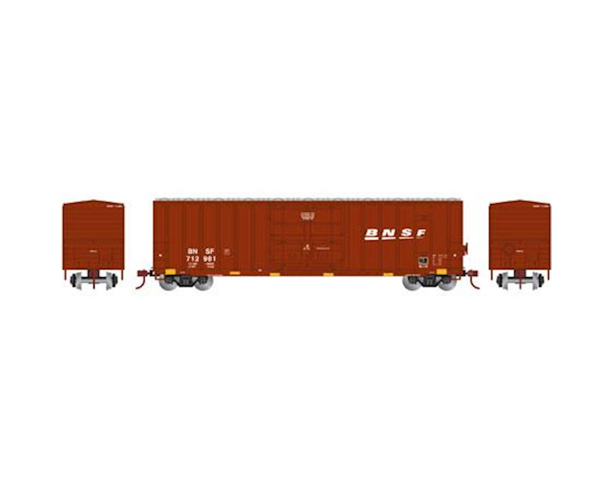 Athearn N 50' FMC Superior Plug Door Box, BNSF #712981