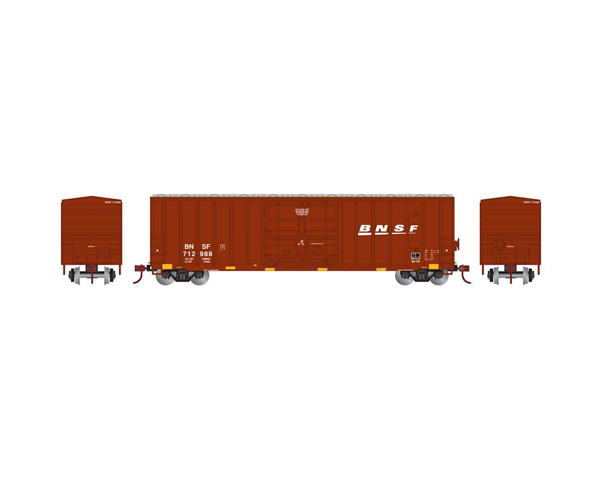 Athearn N 50' FMC Superior Plug Door Box, BNSF #712988