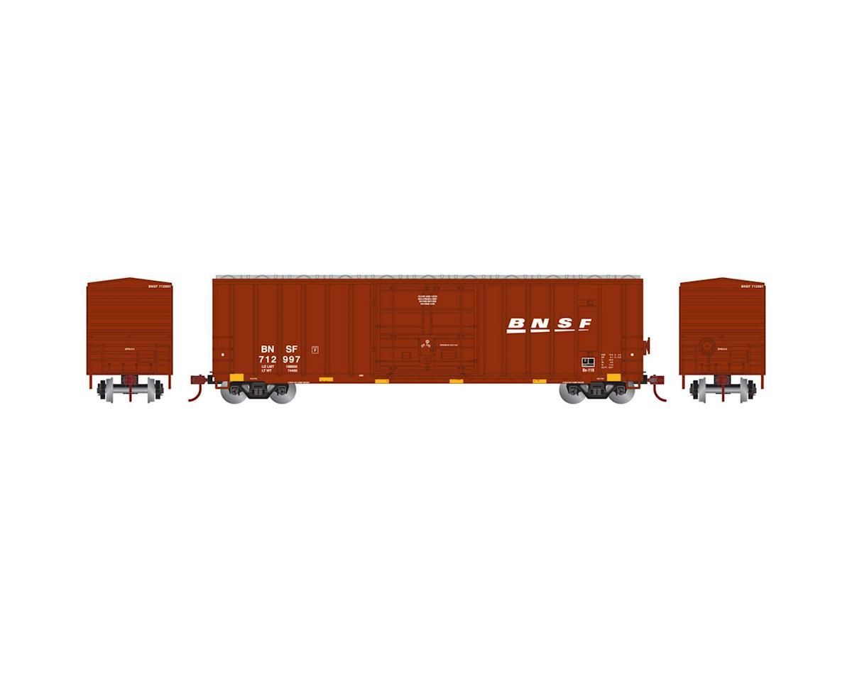 N 50' FMC Superior Plug Door Box, BNSF #712997 by Athearn