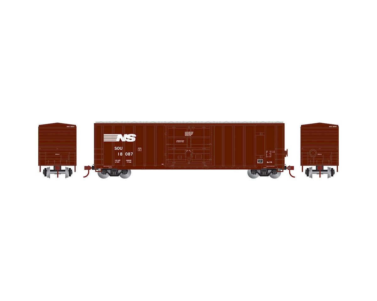 N 50' FMC Superior Plug Door Box, NS/SOU #18087 by Athearn